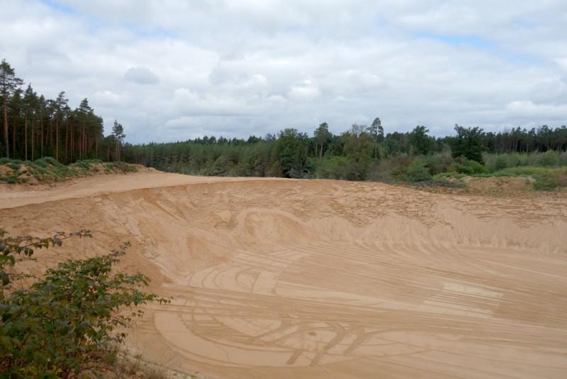 Sandabbau